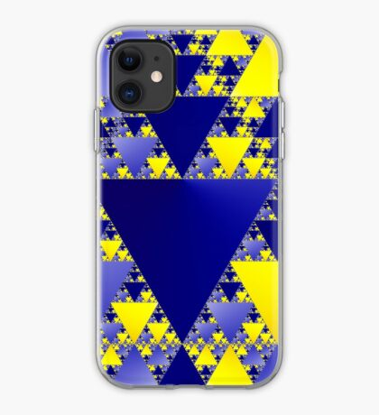 Sierpinski Triangle 001 iPhone Case