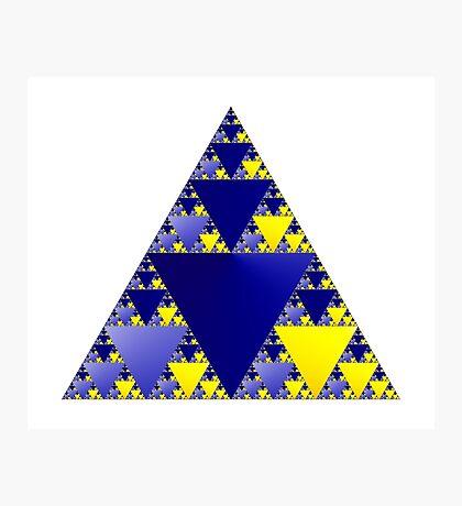 Sierpinski Triangle 001 Photographic Print