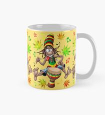 Rasta Bongo Musician funny cool character Classic Mug