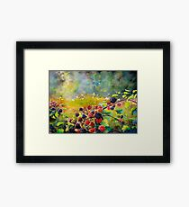 Fruit Harvest Framed Print