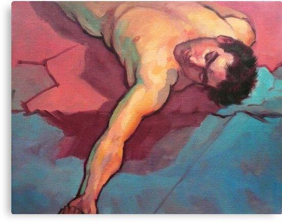 Fallen man by Roz McQuillan