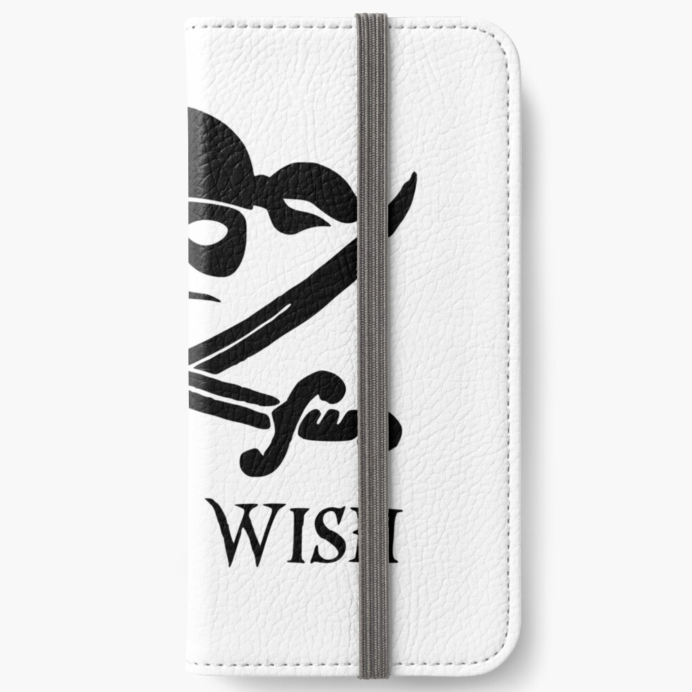 As You Wish... Princess Bride Dread Pirate Roberts iPhone Wallet