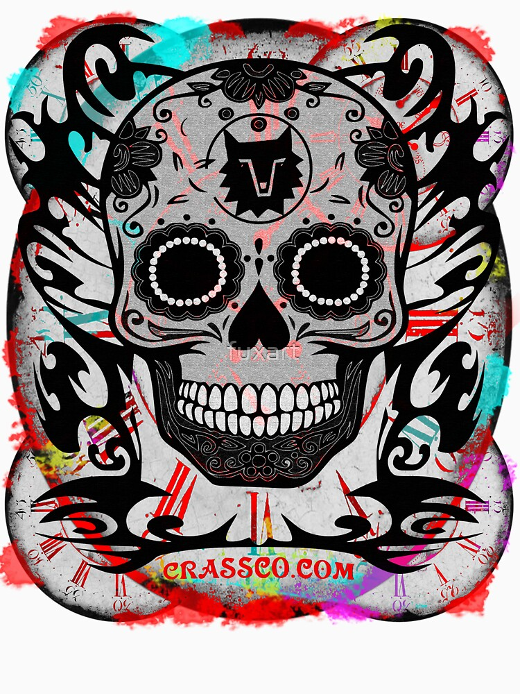SKULL CULT MULTICOLOR CRASSCO von fuxart