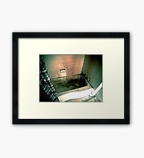 Relaxing Soak Framed Print