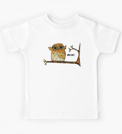 Who Me? Owl Kids Clothes