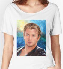Chris Hemsworth Art Women's Relaxed Fit T-Shirt