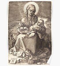 Albrecht Dürer or Durer The Virgin with the Swaddled Child Poster
