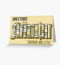 Greetings from Saffron City Greeting Card