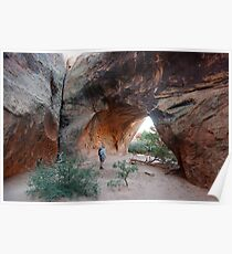 Navajo Arch ~ Arches National Park, Utah USA Poster