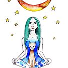 Moon Goddess  by wonderfulhippie