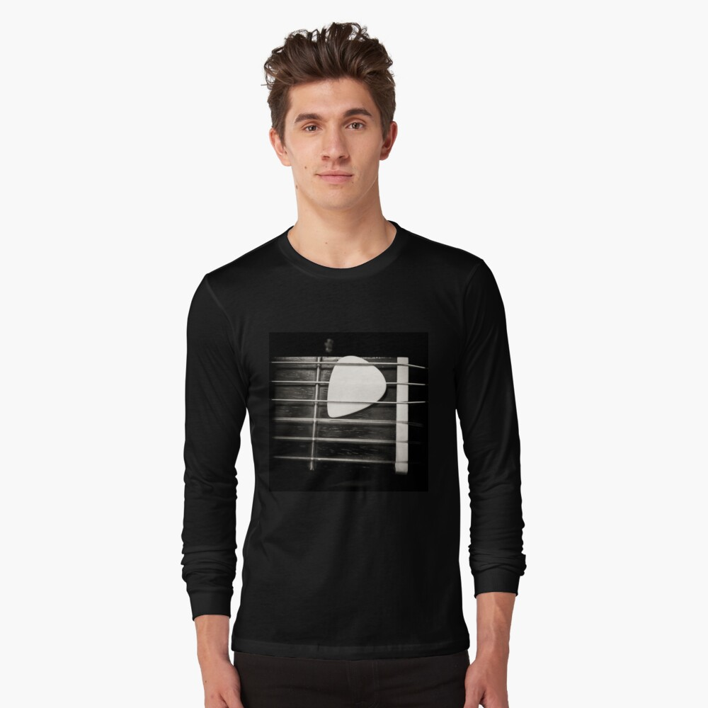 Nylon Long Sleeve T-Shirt Front