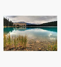 Chateau on the lake Photographic Print