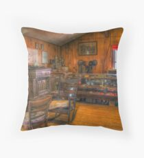Dells Mill Museum Throw Pillow