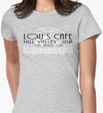Lou's Cafe Women's Fitted T-Shirt