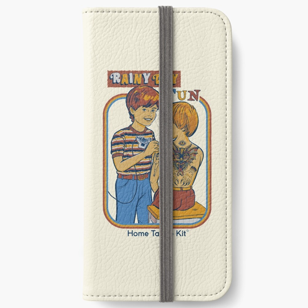 Rainy Day Fun iPhone Wallet