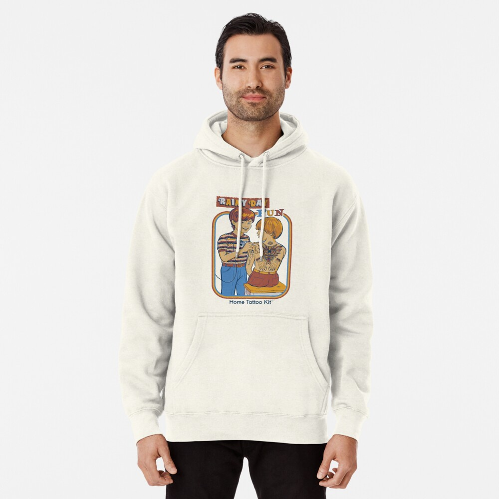 Rainy Day Fun Pullover Hoodie