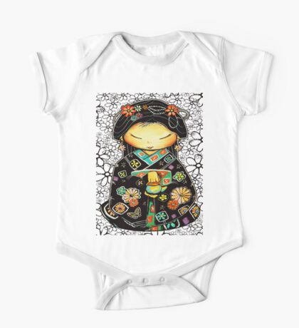 Little Multicolour Teapot Floral  Kids Clothes