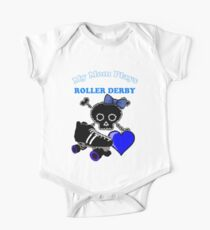 My Mom Plays Roller Derby (Girl) Kids Clothes