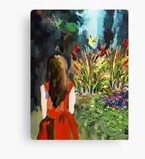 enjoyment of nature Canvas Print