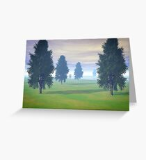 Fairway To Seven Greeting Card