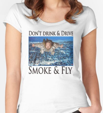 Smoke and Fly Women's Fitted Scoop T-Shirt