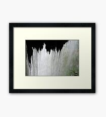 Beyond The Veil Framed Print