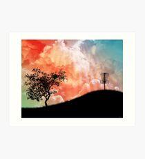 Lámina artística Cesta en una colina