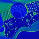 Blue Guitar by Brian Tarr