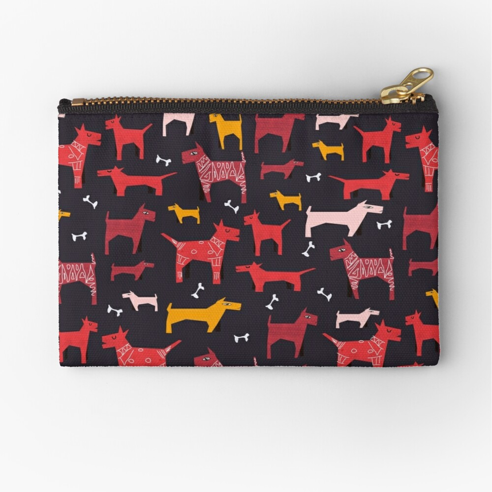 Dogs Funny Zipper Pouch