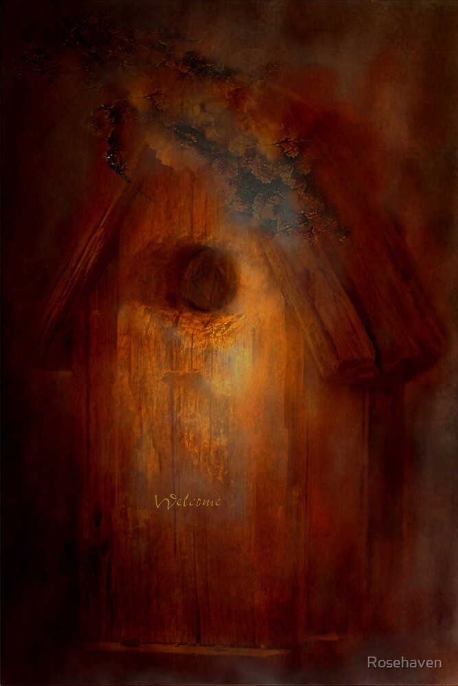 """""""The Little Bird House ..."""" by Rosehaven"""