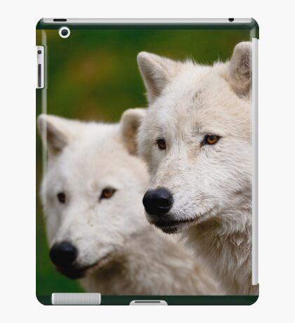 Arctic Wolf Pair iPad Case/Skin