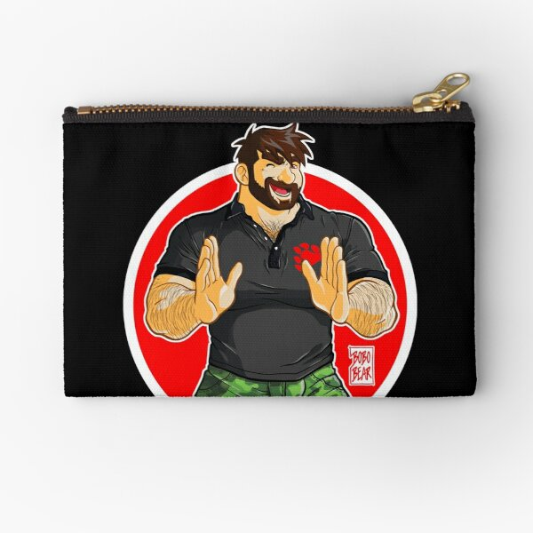 ADAM - BIG BOY (BLACK POLO) Zipper Pouch