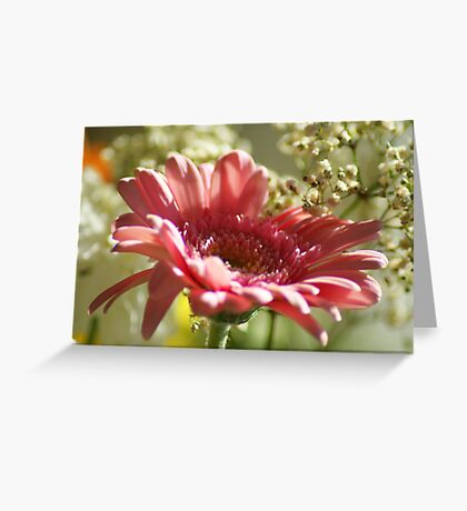 Think Pink ~ Breast Cancer Awareness ~ Greeting Card