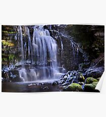 Scaleber Force in winter - The Yorkshire Dales Poster