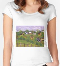 Our Community  Women's Fitted Scoop T-Shirt