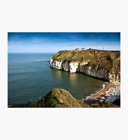 Thornwick Bay Photographic Print