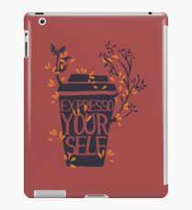 express yourself iPad Case/Skin