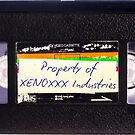 Property of Xenoxxx VHS by Digitiser