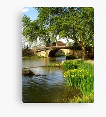 Ventenac Bridge Canvas Print