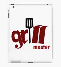 Grill master geek funny nerd iPad Case/Skin