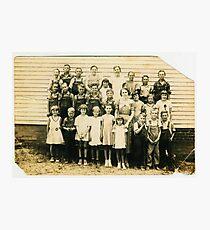 1930's Dublin School, Graves County, Kentucky Photographic Print