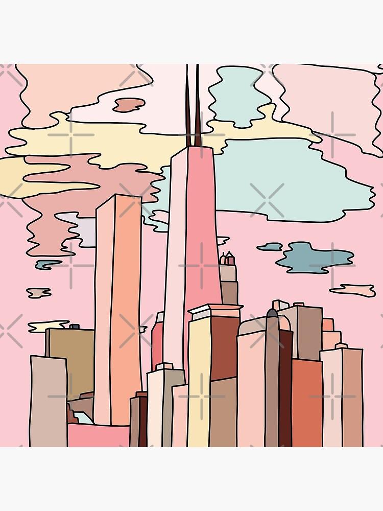 Chicago sunset by Sasa Elebea by elebea
