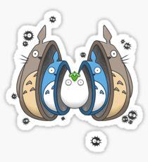 Totoro Matrioska Sticker