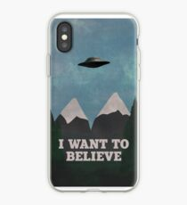 X-Files Twin Peaks mashup v2 iPhone Case