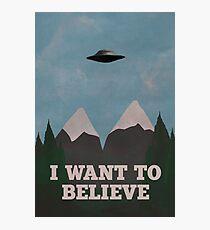 X-Files Twin Peaks mashup v2 Photographic Print