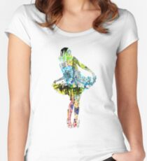 The Lady of New York Women's Fitted Scoop T-Shirt