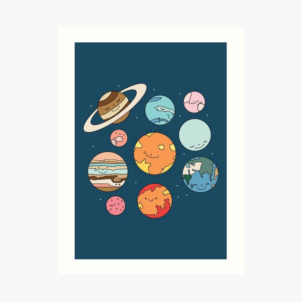 Cosmos by Elebea Art Print
