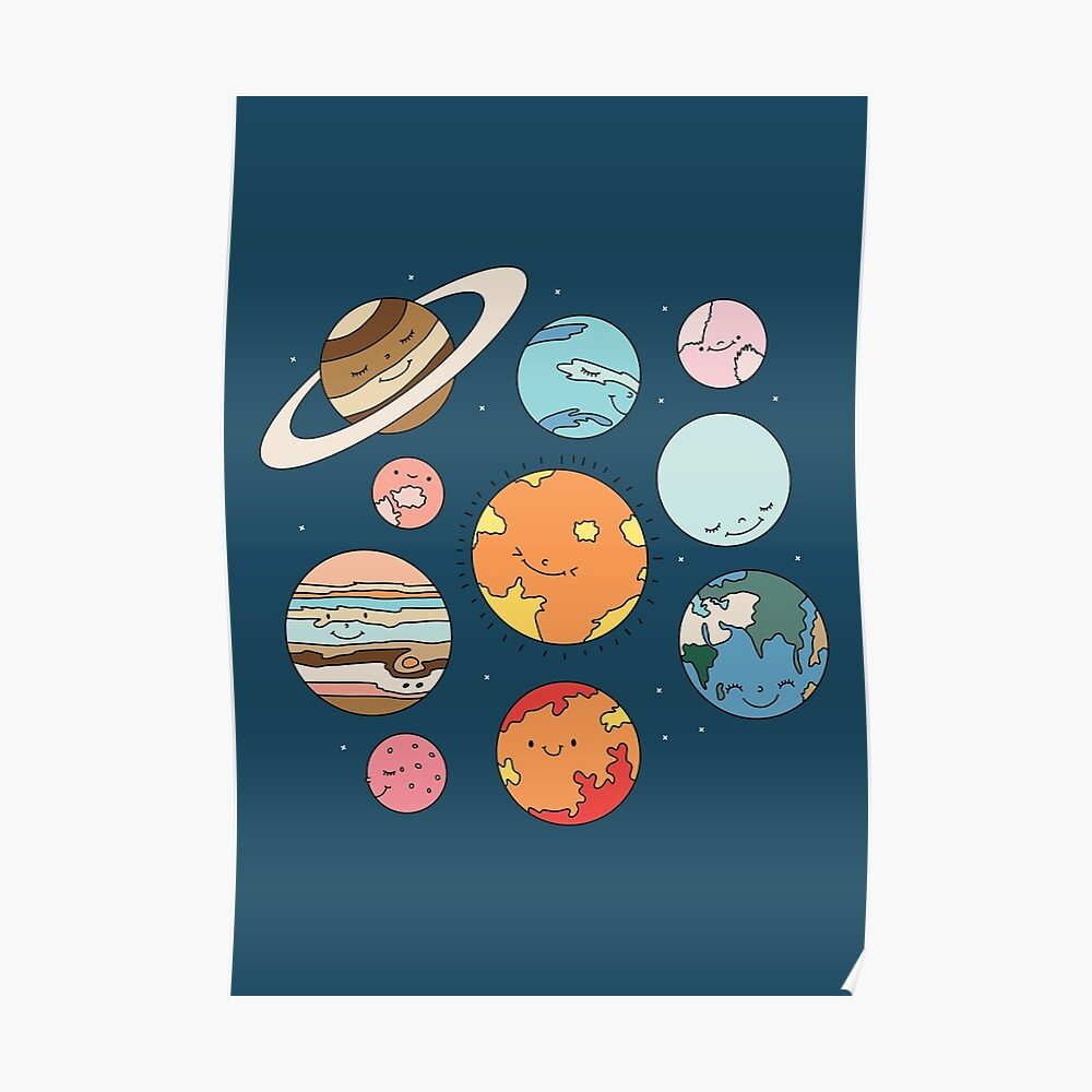 Cosmos by Elebea Poster