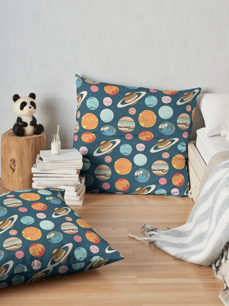 Alternate view of Cosmos by Elebea Floor Pillow