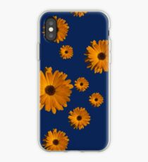 Orange power flower iPhone Case